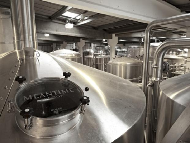 News Shopper: Lucky reporter enjoys a tipsy tour of Meantime's brewery and Greenwich-based pub
