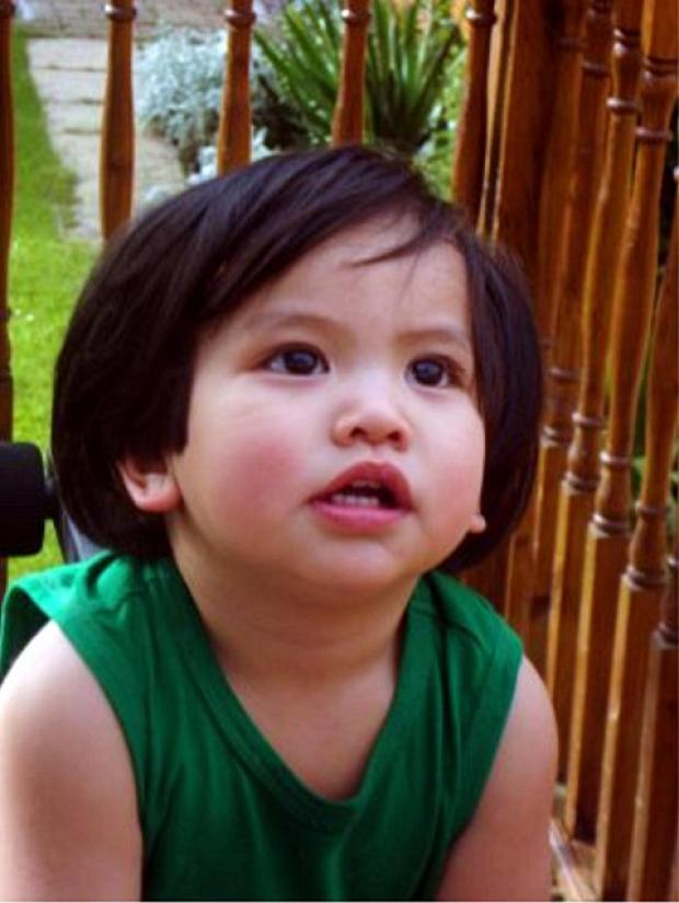 Mycah Angelo Macaspac won the Little Budding Stars competition