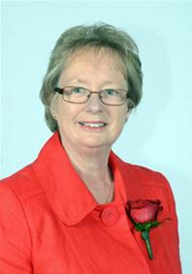 The Mayor of Gravesham, Councillor Lyn Milner.