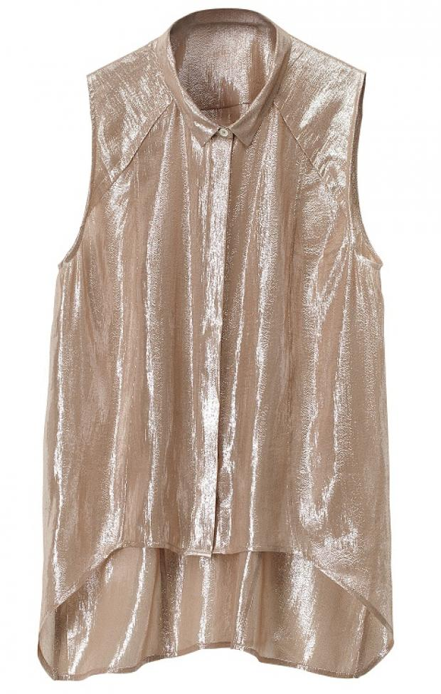 Which metallic maiden are you? Dress to dazzle this autumn with our shiny guide