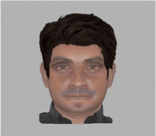 E-fit of a man suspected of sexual assault in Gravesend