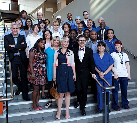 Lewisham & Greenwich NHS Trust choir back with Christmas charity single after TV fame
