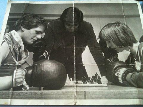 News Shopper: A pictures of the Robinsons in their early days appeared in an unknown newspaper in the late 70s.