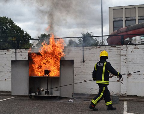 Lewisham firefighters hold open day and demonstrations