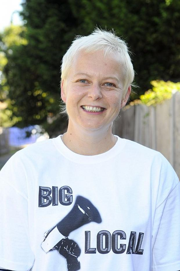 Big Local community worker Alexis Brooks