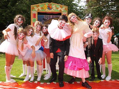 Studio 74 dancers performed Punch and Judy at the Ripley Arts Centre