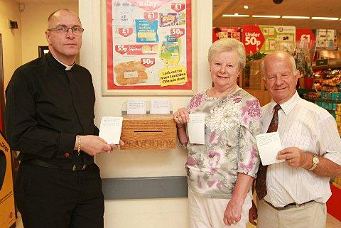 Father Robert Lane from St Francis of Assisi Church, Angela Wilks (Petts Wood Methodist Church) and David Stevenson (Christ Church)