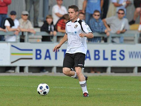 Lee Noble briefly gave Dartford hope with a second half equaliser. PICTURE BY KEITH GILLARD.