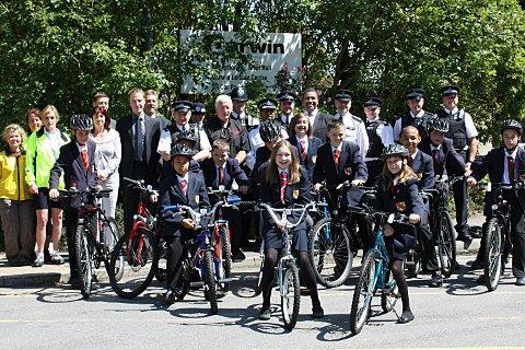 School bike scheme nominated for national award
