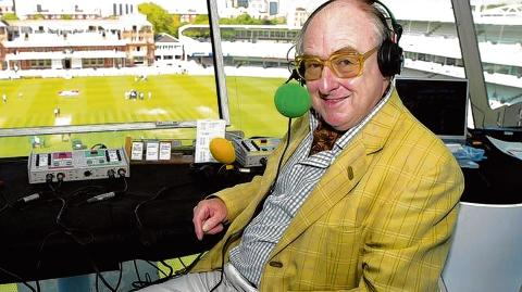 News Shopper: Voice known to millions – cricket commentator Henry Blofeld