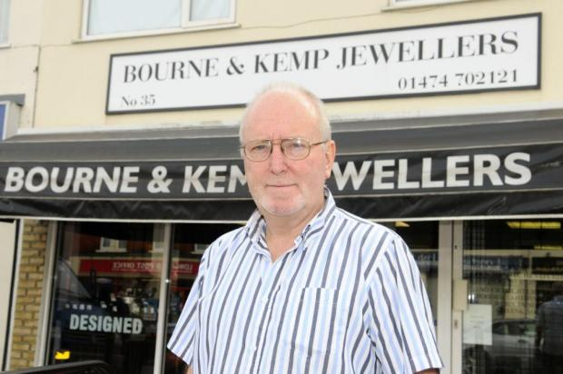 Jeweller Robert Bourne wanted monitored CCTV installed in Longfield