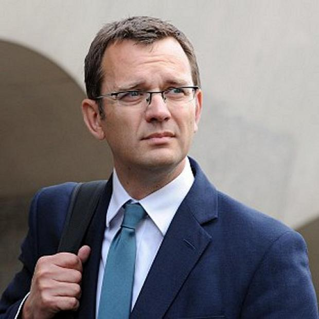 Forest Hill's Andy Coulson arrives at the Old Bailey to face charges linked to the investigation into phone hacking