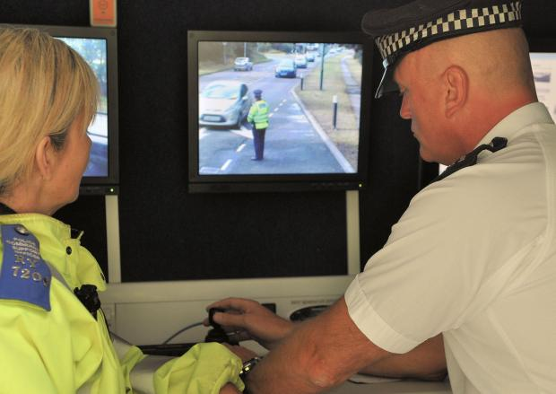 Police used ANPR devices to track uninsured drivers.