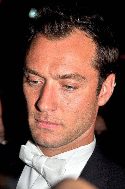 News Shopper: Jude Law is on of Mr Hare's customers (Attribution: Georges Biard)