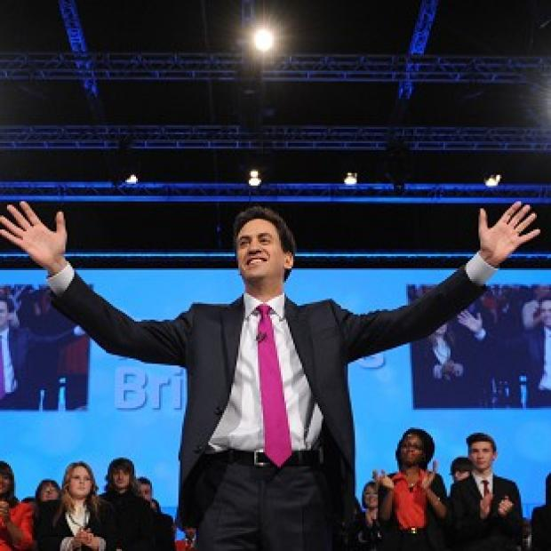 News Shopper: Labour leader Ed Miliband delivers his keynote speech at the Labour Party Conference in Manchester