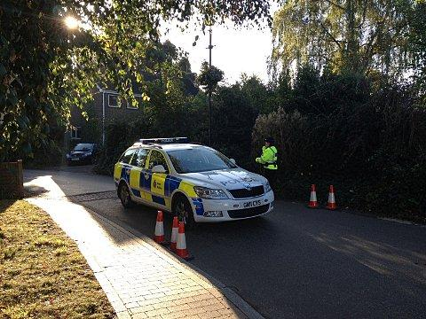 A man was arrested on suspicion of murder in Swanley.
