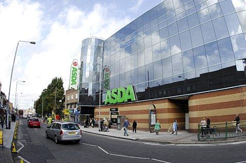 Asda in Bexleyheath.