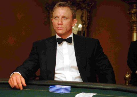 Daniel Craig is once again playing James Bond in the latest 007 movie Skyfall