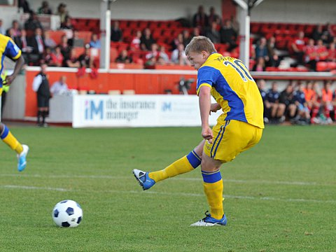 Anthony Malbon puts Kidderminster in front