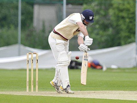 Chris Isles in action for Beckenham this summer. PICTURE BY KEITH GILLARD.