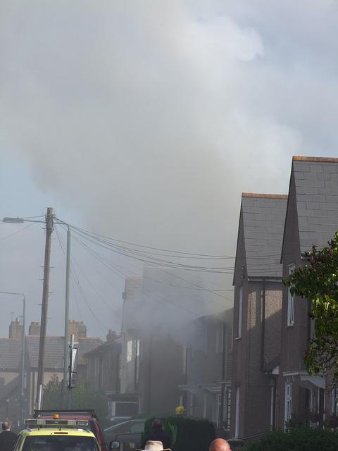 Thirty firefighters tackled the house fire in Wickham Street, Welling. Photo: kenjonbro (Flickr)
