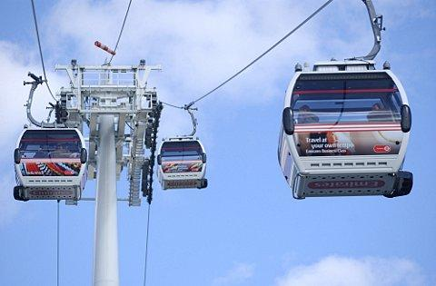 News Shopper: Number of people using Greenwich cable cars nose-dives after Olympics