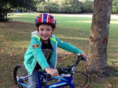 Freddie, 7, has raised over £200 for the World Land Trust