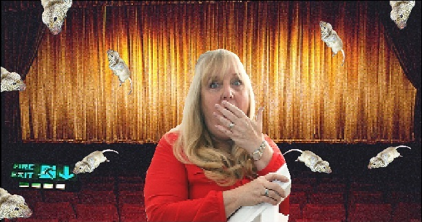 Ann Turner visited Showcase Cinema at Bluewater where she saw the mice.