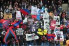 The Palace Ultras will be in full voice again next season