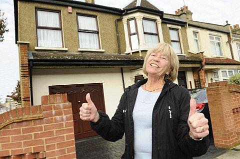 Abbey Wood resident June Milner is celebrating after Crossrail might boost house prices by 25 per cent