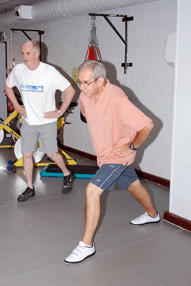 The centre helps heart disease sufferers rehabilitate