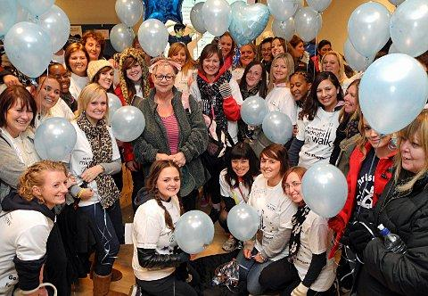 Jo Brand enjoys St Christopher's Hospice Midnight Walk