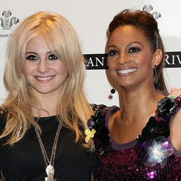 Bickley's Pixie Lott launching Royal British Legion Poppy Appeal with Alesha Dixon