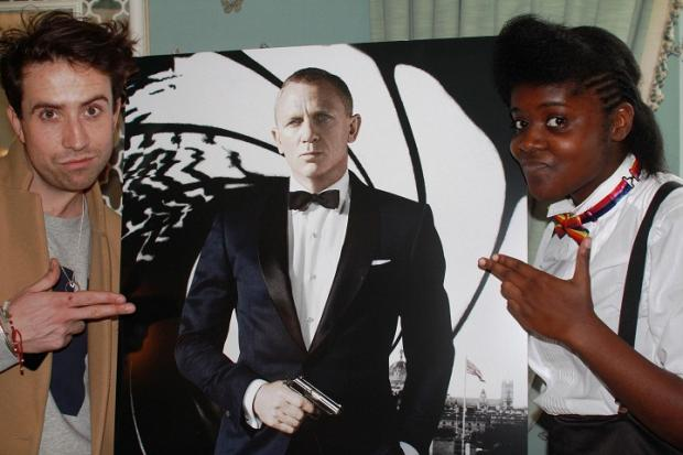 Catford student interviews 007 Daniel Craig after winning BBC competition
