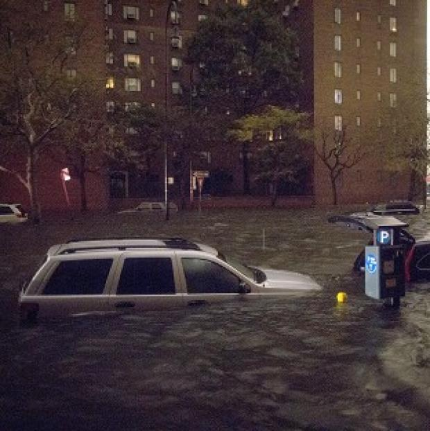 Britons trapped in New York by Superstorm Sandy