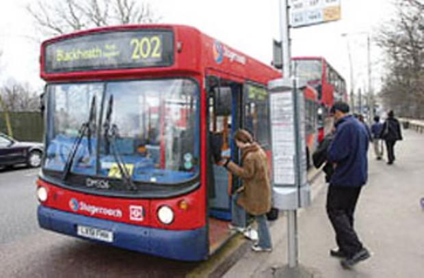 According to figures, 86.8 of buses were on time in Bexley between April 1 and June 22 this year (2012).