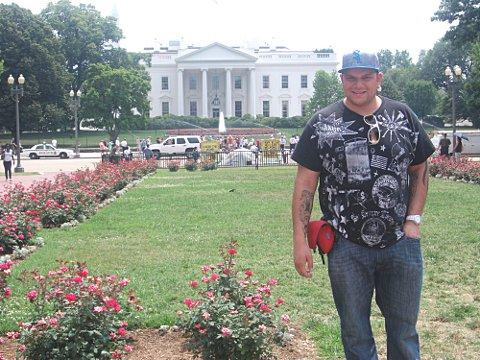 News Shopper: DJ Talent visits the White House while on tour