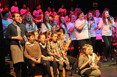 Voice in a Million Children's Choir returns to Dartford