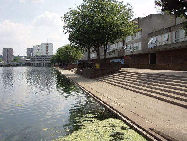 Southmere Lake in Thamesmead.