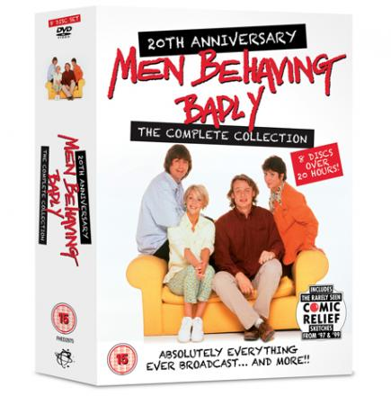 Men Behaving Badly complete 20th anniversary collection boxset