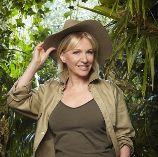 Nadine Dorrieshas been voted off I'm A Celebrity