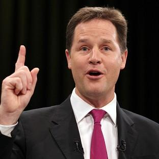 Nick Clegg says the shortage of homes for young people has created a 'generational shift' in the debate