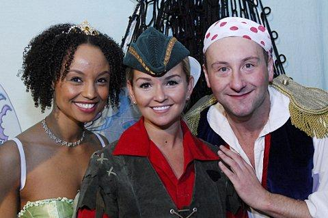 Cast members Gemma Hunt, Jennifer Ellison and Andrew Agnew are fully behind the relaxed performance.