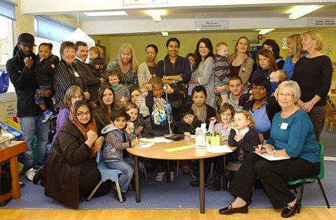 Parents, staff and children at Lewisham Opportunity Pre-School which faces mid-year closure