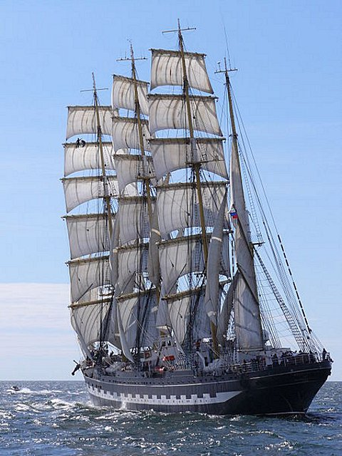 A Tall Ship, picture by Żeglarz