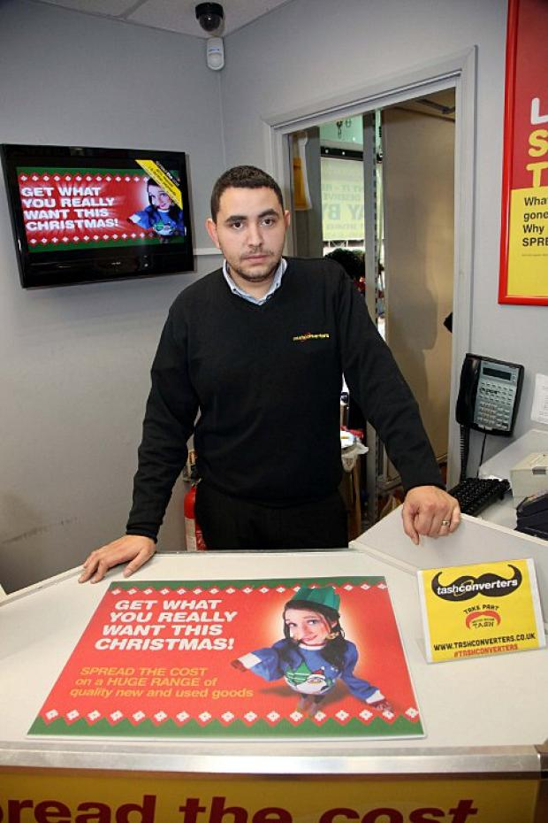 Cash Converters' manager Matthew Murray