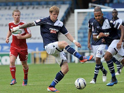 Andy Keogh (above) acored the winning goal. PICTURE BY KEITH GILLARD.
