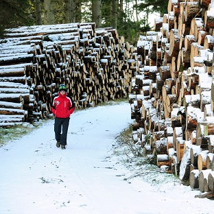 Snow fuels winter chill factor