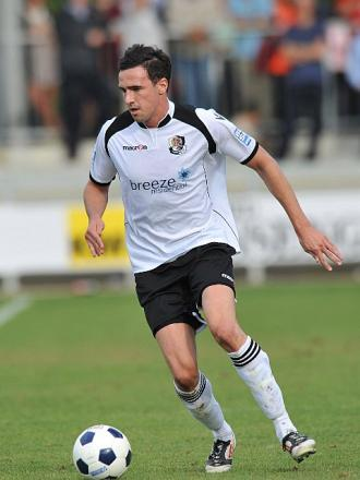 Danny Harris (above) put Dartford 2-1 in front, a lead his side were unable to hold on to. PICTURE BY KEITH GILLARD.