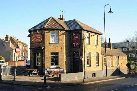 The Duke of Wellington pub.